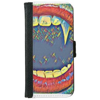 Funda Cartera Para iPhone 6/6s vampiro de la boca