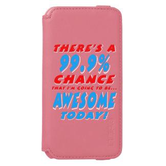 Funda Cartera Para iPhone 6 Watson 99,9% El IR A SER IMPRESIONANTE (blanco)