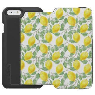 Funda Cartera Para iPhone 6 Watson Árbol de limón fructífero