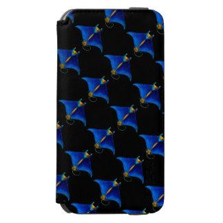 Funda Cartera Para iPhone 6 Watson arte del rayo de manta