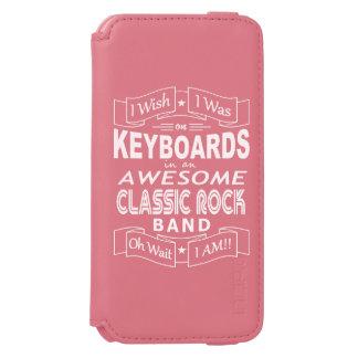 Funda Cartera Para iPhone 6 Watson Banda de rock clásica impresionante de los