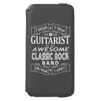 Funda Cartera Para iPhone 6 Watson Banda de rock clásica impresionante del