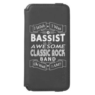 Funda Cartera Para iPhone 6 Watson Banda de rock clásica impresionante del BAJISTA