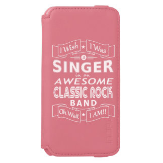 Funda Cartera Para iPhone 6 Watson Banda de rock clásica impresionante del CANTANTE