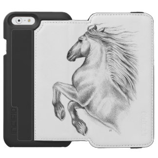 Funda Cartera Para iPhone 6 Watson Caballo andaluz potente