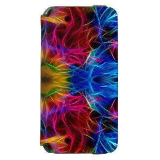 Funda Cartera Para iPhone 6 Watson Caja abstracta colorida del modelo
