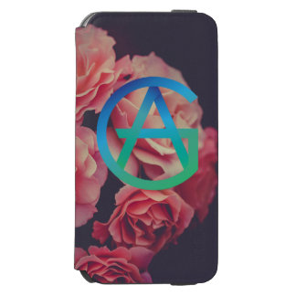 Funda Cartera Para iPhone 6 Watson Caja de la cartera del teléfono del AG
