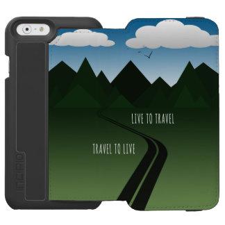 Funda Cartera Para iPhone 6 Watson Camino de la montaña