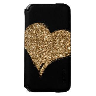 Funda Cartera Para iPhone 6 Watson Corazón O'Gold