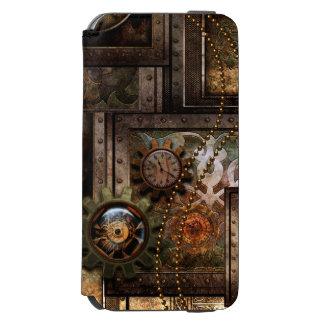 Funda Cartera Para iPhone 6 Watson Diseño maravilloso del steampunk
