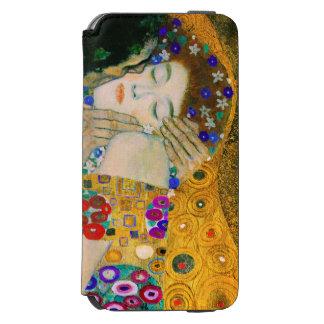 Funda Cartera Para iPhone 6 Watson El beso de Gustavo Klimt