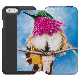 Funda Cartera Para iPhone 6 Watson El colibrí de la costa