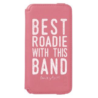 Funda Cartera Para iPhone 6 Watson El mejor Roadie (quizá) (blanco)