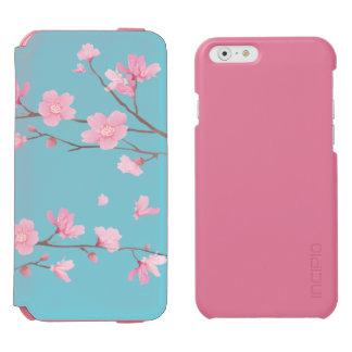 Funda Cartera Para iPhone 6 Watson Flor de cerezo