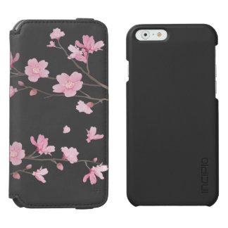 Funda Cartera Para iPhone 6 Watson Flor de cerezo - fondo transparente