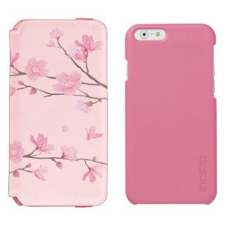 Funda Cartera Para iPhone 6 Watson Flor de cerezo - rosa