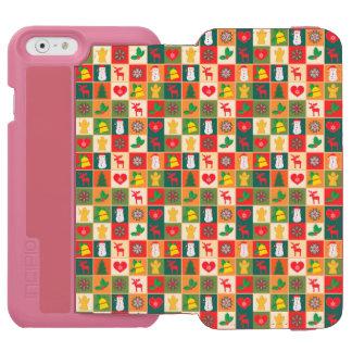 Funda Cartera Para iPhone 6 Watson Gran modelo del navidad