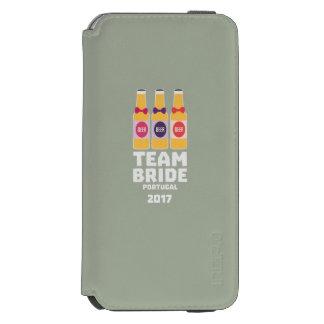 Funda Cartera Para iPhone 6 Watson Novia Portugal del equipo 2017 Zg0kx