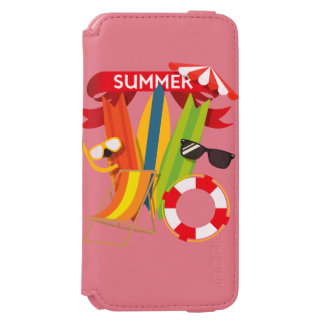 Funda Cartera Para iPhone 6 Watson Playa Watersports del verano