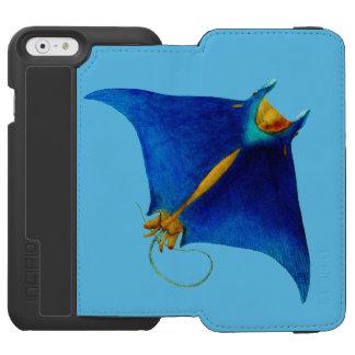 Funda Cartera Para iPhone 6 Watson rayo de manta