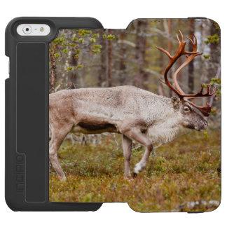 Funda Cartera Para iPhone 6 Watson Reno que camina en bosque