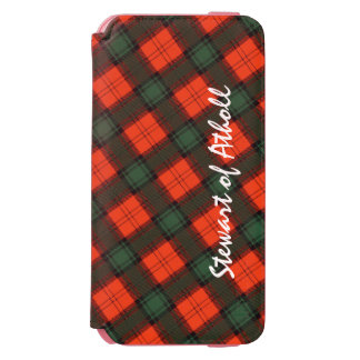 """Funda Cartera Para iPhone 6 Watson """"Stewart tartán escocés de la falda escocesa de"""