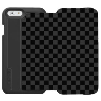 Funda Cartera Para iPhone 6 Watson Tablero de damas blanco y negro