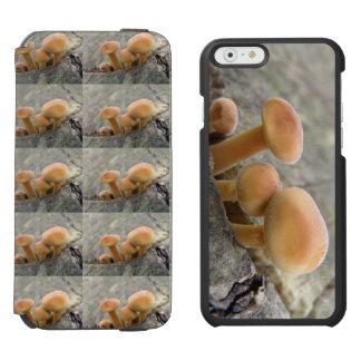 Funda Cartera Para iPhone 6 Watson Toadstools en una caja de la cartera del iPhone