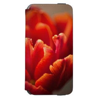 Funda Cartera Para iPhone 6 Watson Tulipán rojo