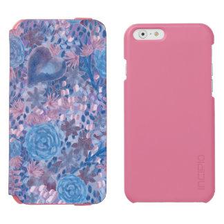 Funda Cartera Para iPhone 6 Watson Watercolor in blues