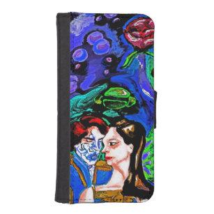fc7eb72190c Funda Cartera Para iPhone SE/5/5s Estrella-amado