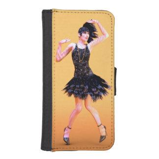 Funda Cartera Para iPhone SE/5/5s Baile de la aleta