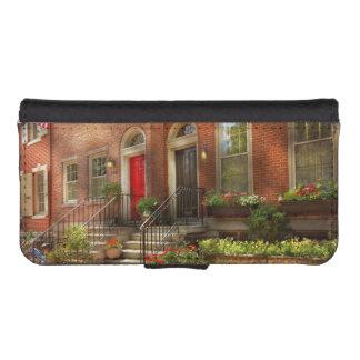 Funda Cartera Para iPhone SE/5/5s Ciudad - PA Philadelphia - Philadelphia bonita