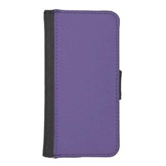 Funda Cartera Para iPhone SE/5/5s Color ultravioleta