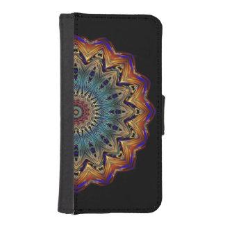 Funda Cartera Para iPhone SE/5/5s Cubierta mágica del ipad del círculo de color