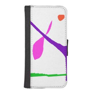 Funda Cartera Para iPhone SE/5/5s Nunca Get agujereado