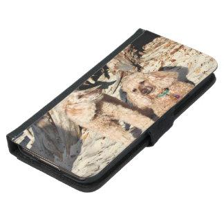 Funda Cartera Para Samsung Galaxy S5 Lixiviación - caniches - Romeo Remy