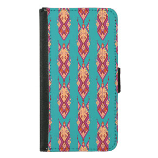 Funda Cartera Para Samsung Galaxy S5 Ornamento azteca tribal étnico del vintage