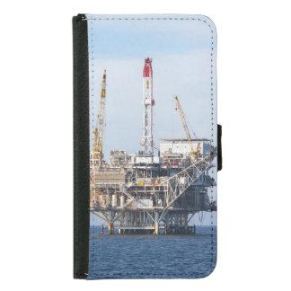 Funda Cartera Para Samsung Galaxy S5 Plataforma petrolera