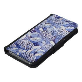 Funda Cartera Para Samsung Galaxy S6 Tejas florales