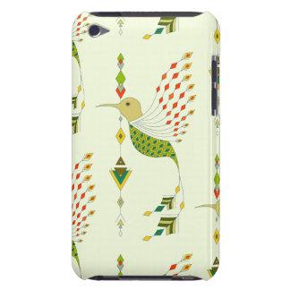 Funda Case-Mate Para iPod Pájaro azteca tribal étnico del vintage