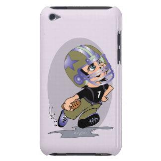 Funda Case-Mate Para iPod Tacto BT de iPod del DIBUJO ANIMADO del FÚTBOL de