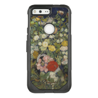Funda Commuter De OtterBox Para Google Pixel Ramo de flores en un florero