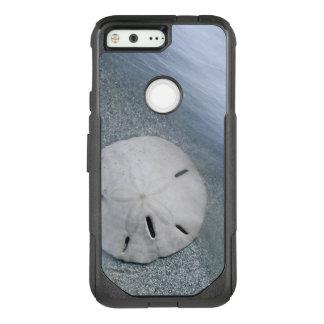 Funda Commuter De OtterBox Para Google Pixel Sanddollar en la isla de la playa el   Sanibel, la