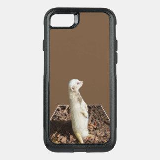 Funda Commuter De OtterBox Para iPhone 8/7 Arte del Popout de Meerkat, caso del defensor del