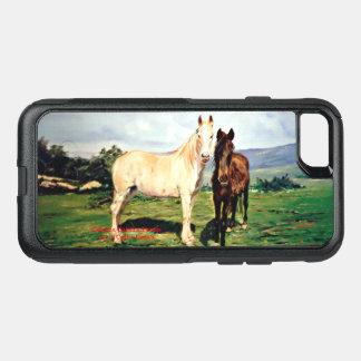 Funda Commuter De OtterBox Para iPhone 8/7 Caballos/Cabalos/Horses