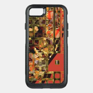 Funda Commuter De OtterBox Para iPhone 8/7 Caja roja asiática de la caja de la nutria