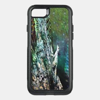 Funda Commuter De OtterBox Para iPhone 8/7 Caso del lagarto