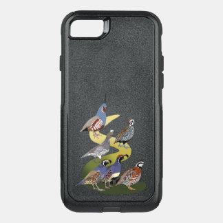 Funda Commuter De OtterBox Para iPhone 8/7 Codornices de BennuBirdy de Norteamérica (ningún