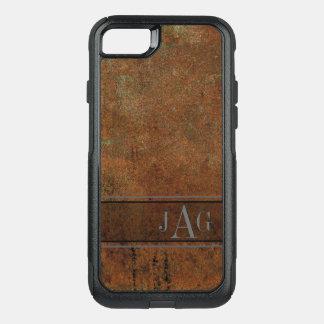 Funda Commuter De OtterBox Para iPhone 8/7 Diseño texturizado Brown antiguo